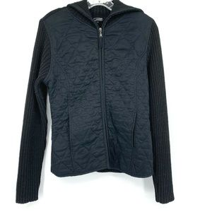 3/20 Effeci Creazoni Quilted Knit Sweater Jacket